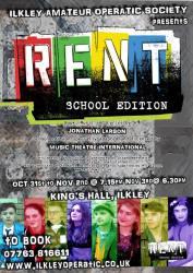 RENT flyer